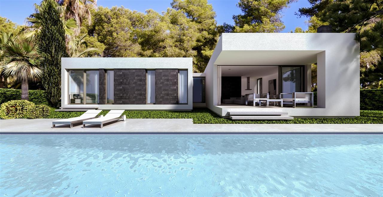 RS5479 Villa NEUBAU Mit Pool